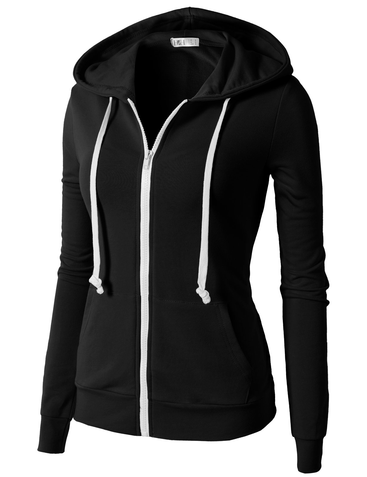 H2H Women's Casual Regular Fit Hoodie Long Sleeve Comfortable Lightweight