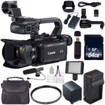 Canon XA11 Compact Full HD ENG Camcorder #2218C002 + 64GB Memory Card + BP-820 Replacement Lithium Ion Battery Bundle 2