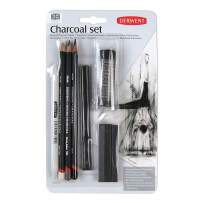 Derwent Charcoal Collection, Pack, 10 Count (2300675)