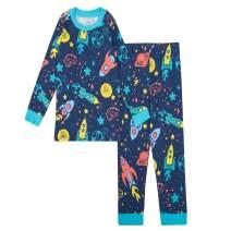 Gentle Organics 100% Organic Cotton Unisex Pajamas 2 Piece Pajama Sets - 100% Organic Cotton (Infant/Toddler)