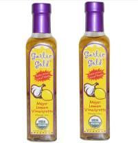 USDA Certified Organic Lemon Meyer with Extra Virgin Olive Oil Vinaigrette Salad Dressing & Marinade Soy Free Keto Paleo friendly Vinegar Free (Pack of 2)
