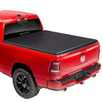"Rugged Liner E-Series Soft Folding Truck Bed Tonneau Cover | E3-D5519 | Fits 2019 - 2020 New Body Style Dodge Ram 1500 5' 7"" Bed"