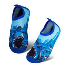 Toddler Kids Water Shoes Lightweight Non-Slip Aqua Socks Shoes for Beach Walking for Boys Girls Toddler