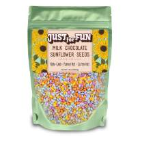 JUSTforFUN Milk Chocolate Sunflower Seeds, 7.4 Oz (Pack Of 3)