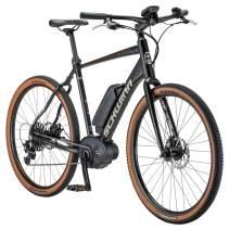 Schwinn Vantage FXe 650b Electric Sport Hybrid Road Bike, 57cm/Large Frame, Matte Black/Copper