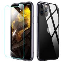 MILPROX iPhone 11 Pro Case, Crystal Clear Thin Slim Shell Anti-Yellow Anti-Slippery Shockproof Protective Bumper Cover Case for iPhone XI Pro 5.8 Inch (2019) (Gray)