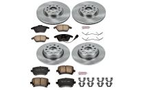 Autospecialty KOE2260 1-Click OE Replacement Brake Kit