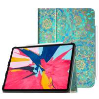 """Fintie Folio Case for iPad Pro 11"""" 2018 [Supports 2nd Gen Pencil Charging Mode] - PU Leather Folio Stand Cover with [Secure Pencil Holder] Auto Sleep/Wake for iPad Pro 11 inch, Shades of Blue"""