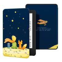 Ayotu Slim Case for All-New Kindle(10th Gen, 2019 Release) - PU Leather Cover with Auto Wake/Sleep-Fits Amazon All-New Kindle 2019(Will not fit Kindle Paperwhite or Kindle Oasis),The Boy and Fox