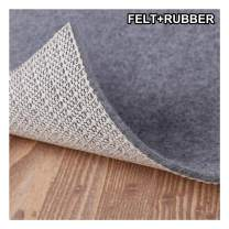 """Enjoy Holiday 1981 Non Slip Pad Rug Grippers - 5x7, 1/8"""" Thick, (Felt + Rubber) Double Layers Area Carpet Mat Tap, Provides Protection and Cushioning for Hardwood or Tile Floors"""