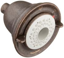 American Standard 1660.113.224 Flowise Traditional 3-Function Water Saving Showerhead, Oil Rubbed Bronze