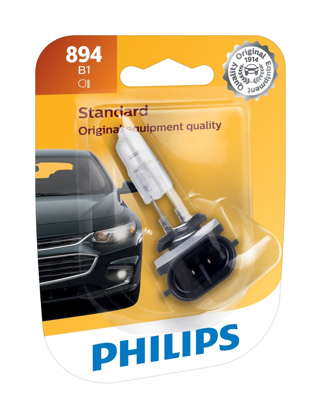 Philips 894B1 Standard Fog Bulb (Pack of 1)