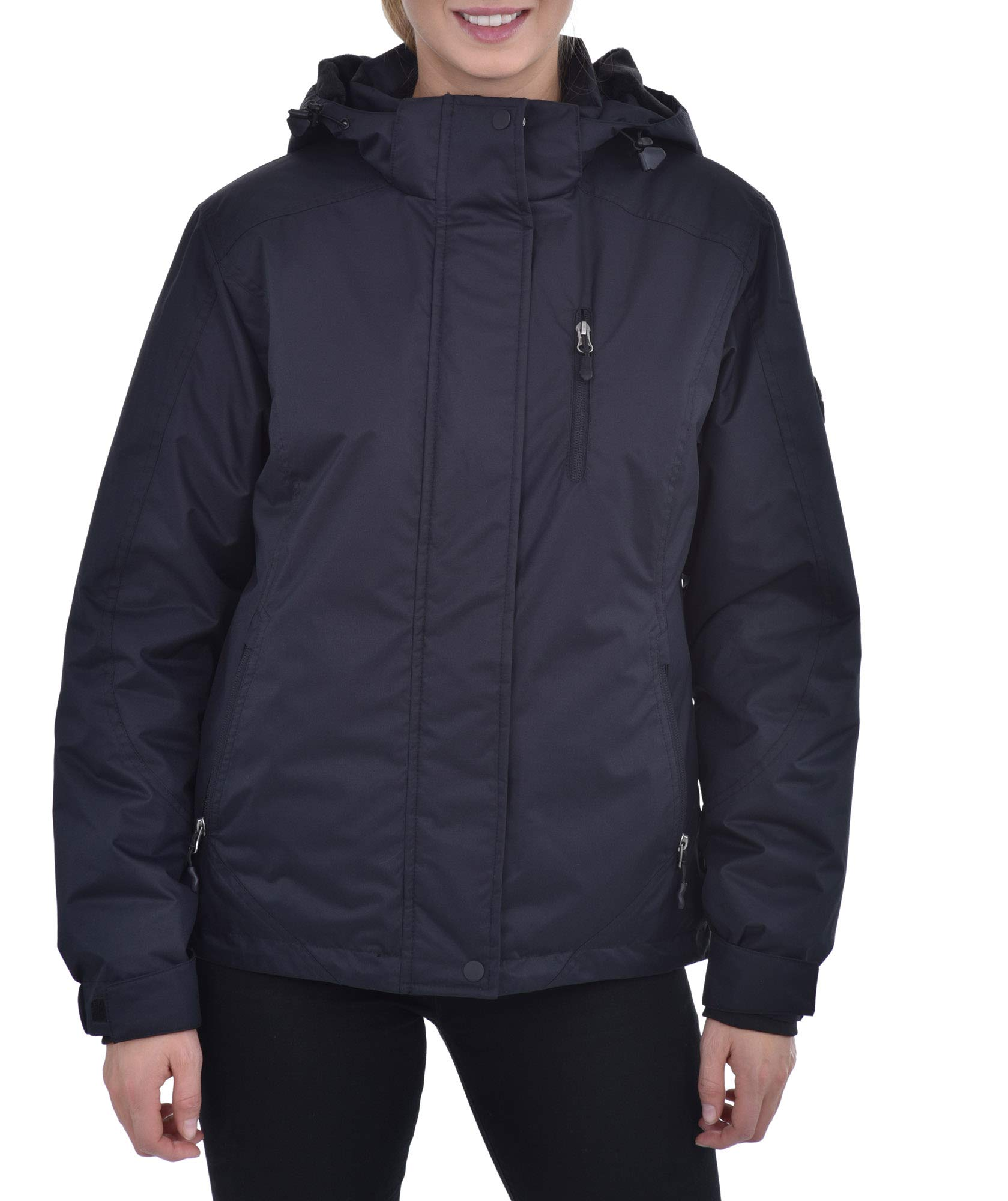 Swiss Alps Womens Insulated Waterproof Performance Winter Ski Jacket Coat