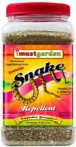 I Must Garden Snake Repellent: Powerful All-Natural Protection - 4 lb. Granular Shaker Jar