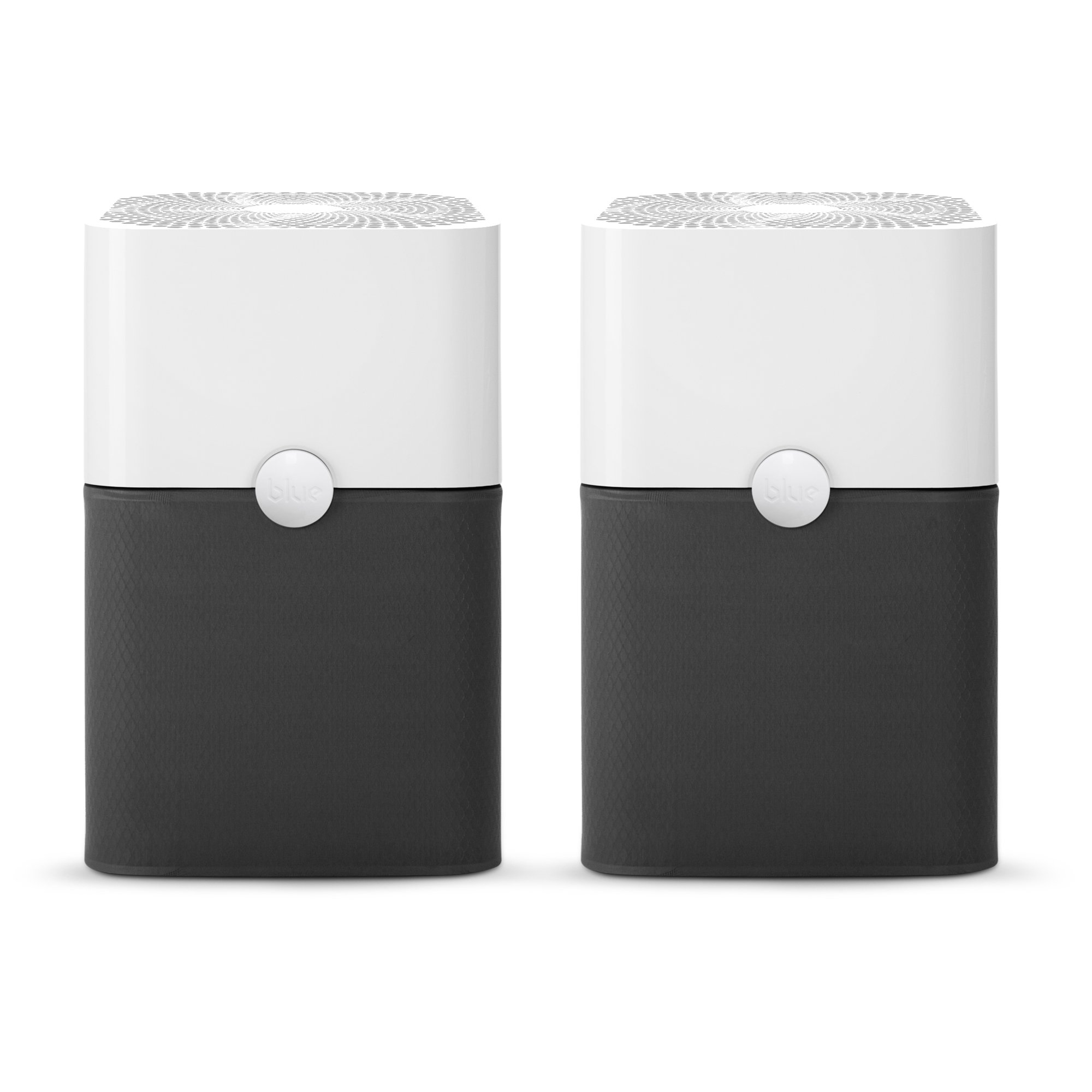 Blueair Blue Pure 211+ Air Purifier (2 pack) 3 Stage with Two Washable Pre-Filters, Particle, Carbon Filter, Captures Allergens, Viruses, Odors, Smoke, Mold, Dust, Germs, Pets, Smokers, Large Room