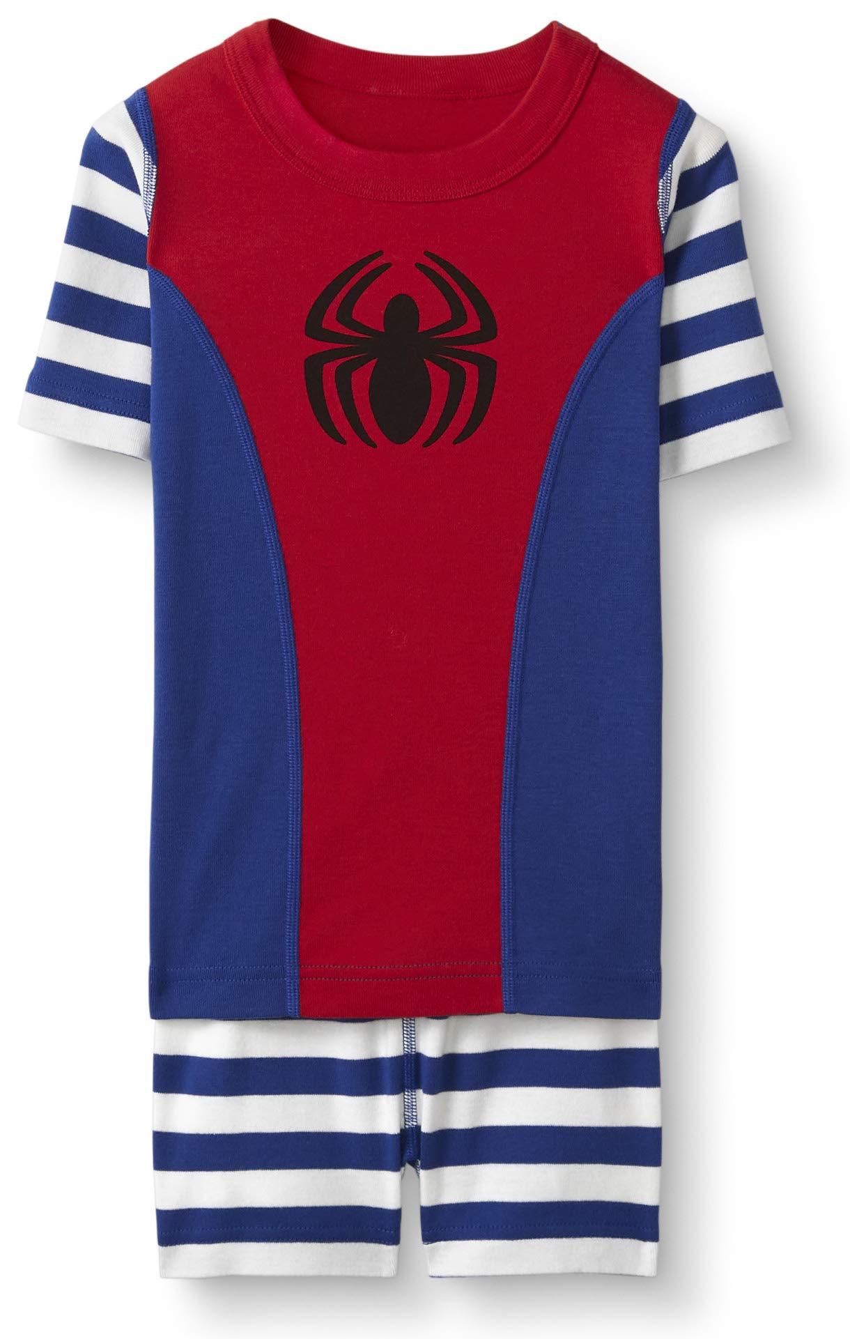 Hanna Andersson Kids Marvel's Spider-Man Short John Pajamas in Organic Cotton