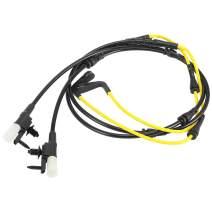 X AUTOHAUX 2pcs Car Front Brake Pad Wear Sensor for Jaguar F-Pace 15-20 T4A3467 T4A12867