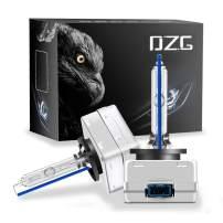 DZG D8S 8000K HID Xenon Headlight Bulbs 35W 12V Car Headlamp, 2 Pack