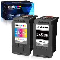 E-Z Ink (TM) Remanufactured Ink Cartridge Replacement for Canon PG-245XL CL-246XL PG-243 CL-244 to use with Pixma TS3120 MG2520 MX492 TR4520 TS202 MG2525 MG3022 MG2522 MG2922 (1 Black, 1 Tri-Color)