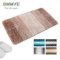 """BMMYE Indoor Doormat Front Door Mat, Super Absorbent Entrance Rug Non Slip Back Door Mats, Dirt Trapper Entry Rugs Inside Machine Washable Door Gradient Carpet for Entryway (32""""x20"""", Grey)"""
