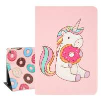 """Hepix Unicorn iPad Cases 9.7"""" Cute iPad Air/Air 2 Case for Kids, Slim Protective iPad 6th/5th Gen Case PU Leather Stand with Auto Sleep Wake for iPad 2018 2017"""