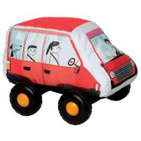 Manhattan Toy Bumpers Hatchback Toy Vehicle for Toddlers