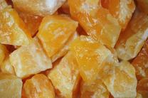 Fantasia Materials: 18 lbs AAA Grade Orange Calcite Rough Stones from Mexico