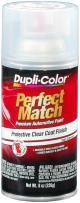 Dupli-Color EBCL01257 Clear Perfect Match Automotive Top Coat - 8 oz. Aerosol, (Case of 6)