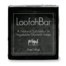 Primal Elements Smokey Vetiver 5.0 Oz. Loofah Glycerin Bar Soap
