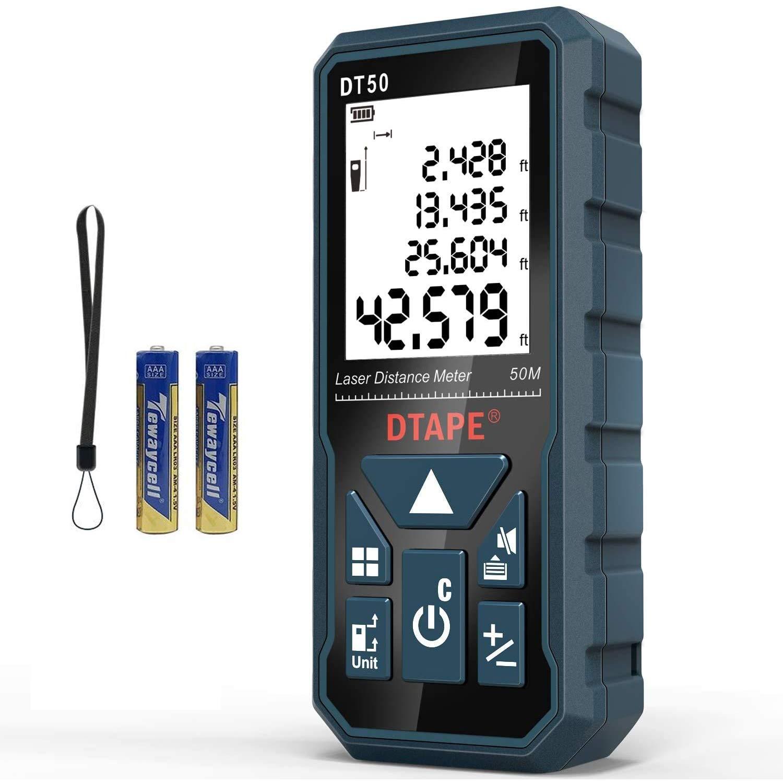40M Mini Digital Laser Distance Meter Range Finder Measuring Eletric Level IP54