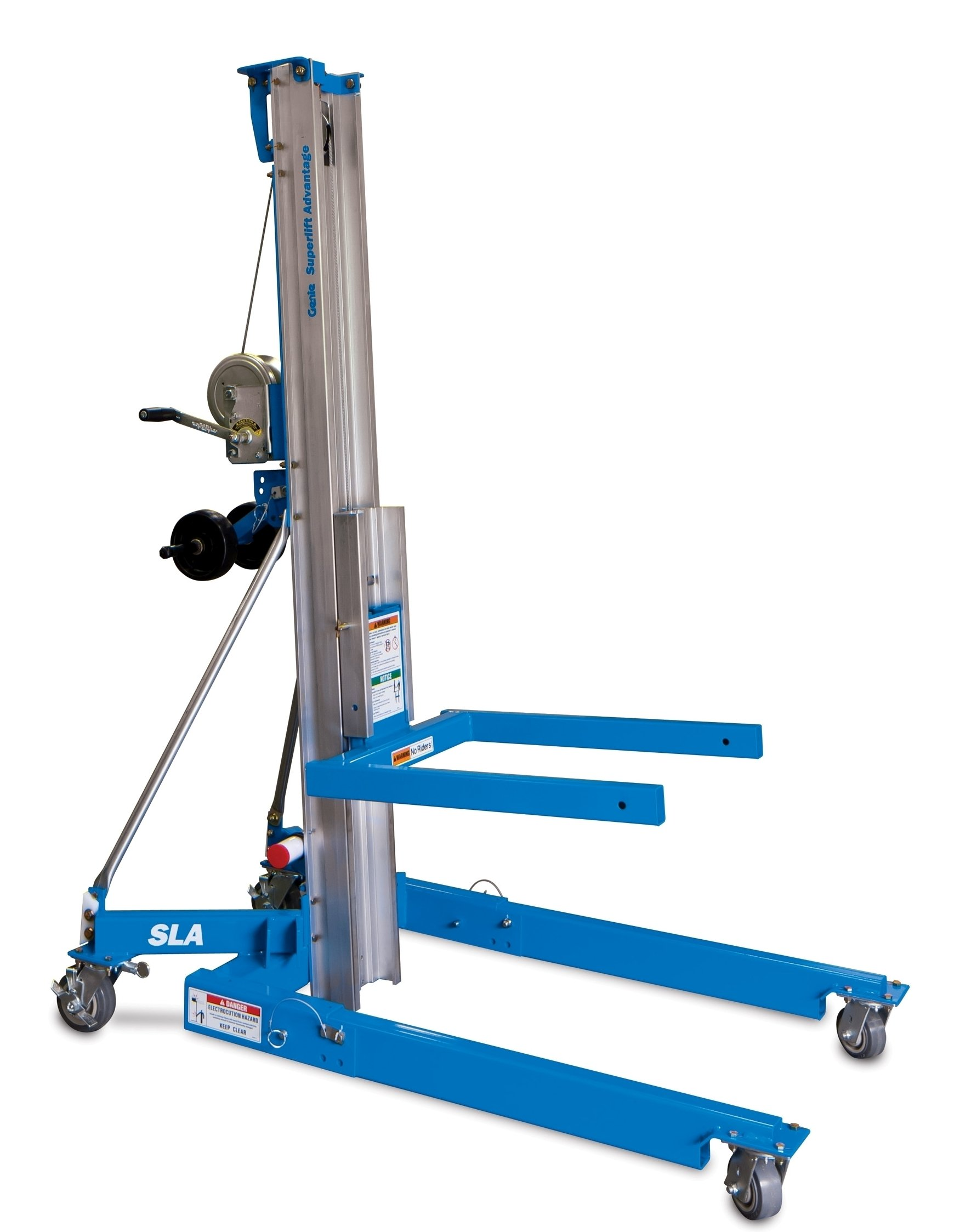 "Genie Super Lift Advantage, SLA- 10, 1000 lbs Load Capacity, Lift Height 11' 5.5"", Load & Transport with Single User"