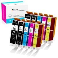 K-Ink Compatible Ink Cartridge Replacement for Canon PGI-250XL PGI 250 XL CLI-251XL CLI 251 XL for Pixma MX922 MG7520 MG5520 MG5420 MG6620 MG5620 (2 Big Black, 2 Black, 2 Cyan, 2 Yellow, 2 Magenta)