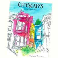 Various Adult Coloring Books – Relaxation, Focus, and Calming The Mind (Cityscapes)