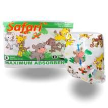 Rearz - Safari - Adult Diaper (12 Pack) (Small)