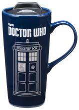 Vandor Doctor Who 20 Oz. Heat Reactive Ceramic Travel Mug (16251)