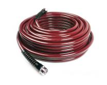 Water Right 400 Series Polyurethane Slim & Light Drinking Water Safe Garden Hose, 75-Foot x 7/16-Inch, Brass Fittings, Cranberry, USA Made