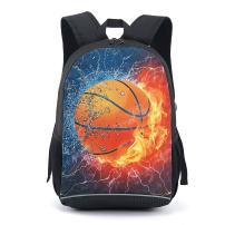 CAIWEI 17 Inch American Football Backpack School Bag