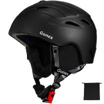 Gonex Ski Helmet Snowboard Helmet for Men Women Youth - with ASTM CE Certified Safety - Lightweight Snow Helmet - with Adjustable Ventilation, Dial Fit, Goggles Compatible, Removable Warm Ear Pads
