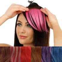 IMAGINE HAIR FUN HAIR BANGER (Cookies & Cream) – 100% Human Hair Clip-in Bangs - Hair Filler