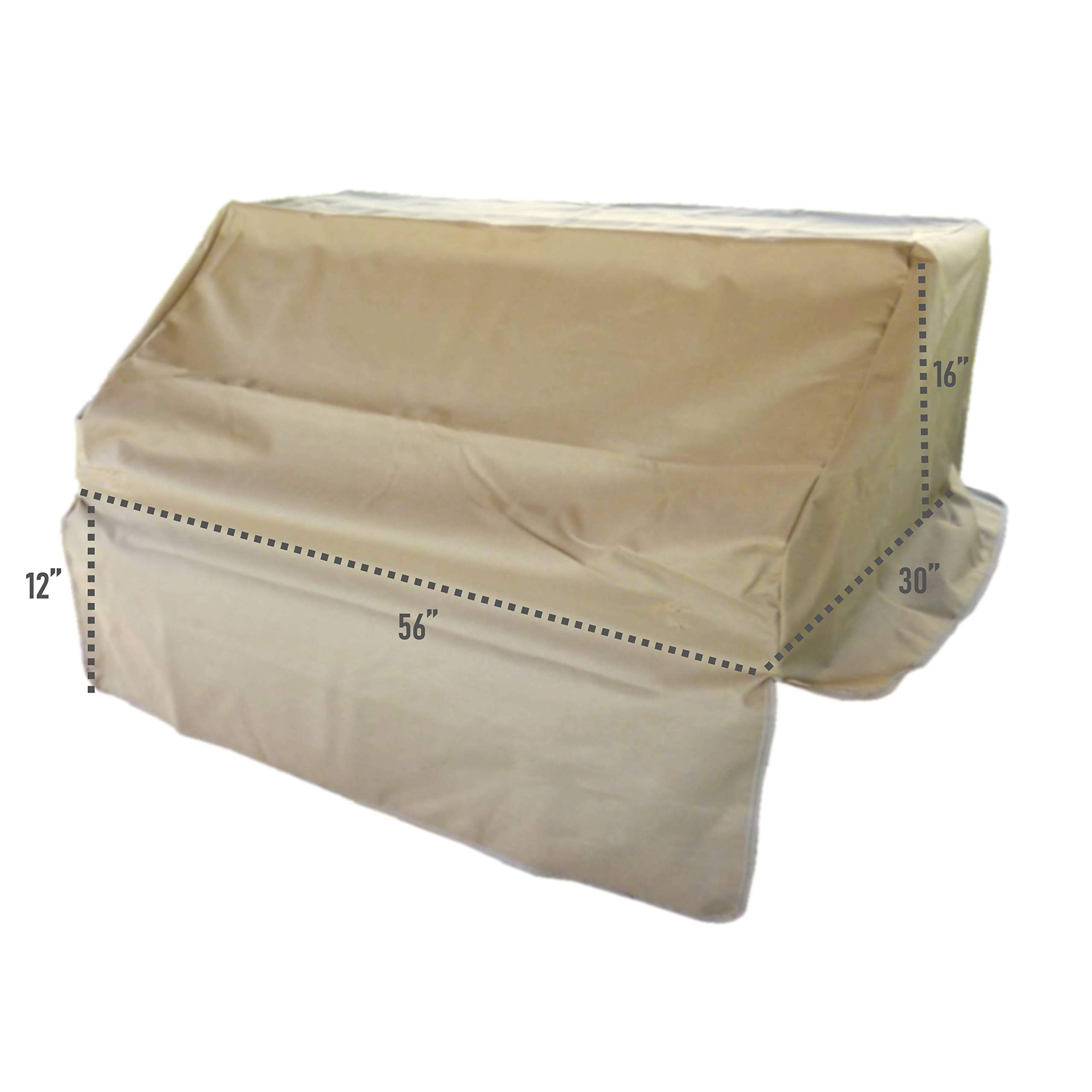 """Formosa Covers BBQ Built-in Grill Cover up to 56"""""""
