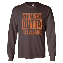 UGP Campus Apparel Straight Outta Hometown Pride Long Sleeve T-Shirt