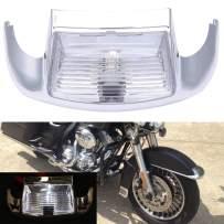 Front Fender Tip LED Light For Harley Electra Glide 1980-2013 Heritage Softail Classic FLSTC 1986-2008