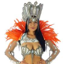 ZUCKER Feather Carnival Costume Samba Collar - Cosplay/Halloween Costumes -