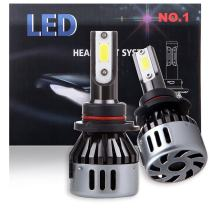 ECCPP 9006 LED Headlight Bulb Super Bright 360 Degree Cree White Fog Light LED Headlight Kit High Low Beam - 8000Lm 80W 6000K Focus Light - 1 Year Warranty (Pack of 2)