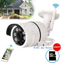 WiFi Camera Outdoor, CCTV Wireless Security IP Camera, 720P HD Night Vision Bullet Cameras, Waterproof Surveillance CCTV, IR LED Motion Detection IP Cameras for Indoor Outdoor,Built-in 16GB SD Card
