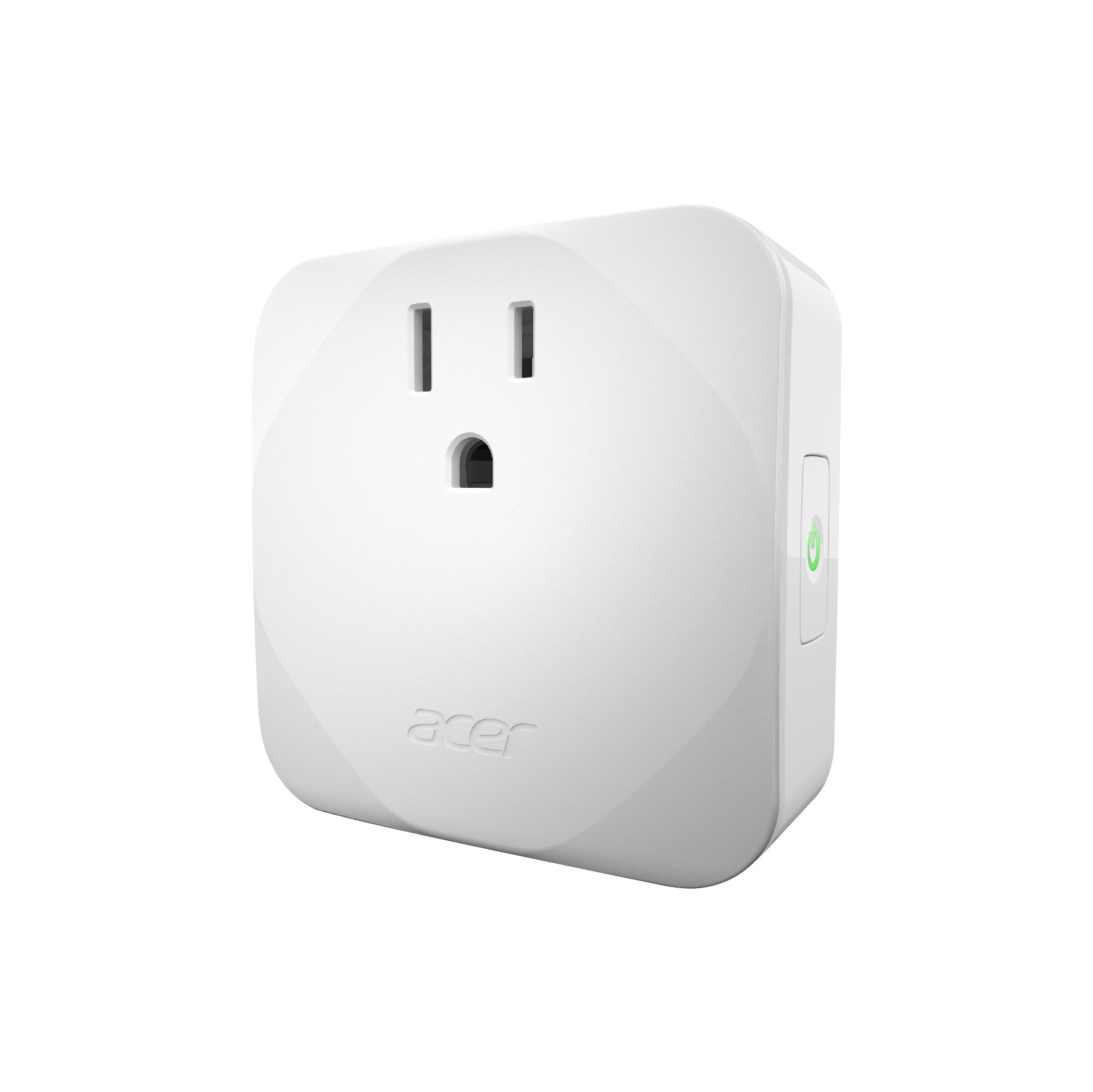 Acer Smart Plug with Power Meter, WiFi Enabled, No Hub Required, Remote Control by APP, Timer and Scheduling Function, Overload Protection