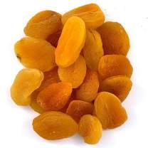 Needzo Fresh Dried Apricots Fruit in Snack Size Bags for Adults and Kids, 6 Ounces, Pack of 2
