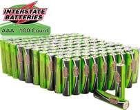Interstate Batteries AAA Battery Alkaline 100 Pack - Workaholic (DRY7003)…
