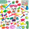 120 PCS Party Favors Toy Carnival Prizes Assortment for Kids Bulk Small Toys For Birthday Favors Pinata Fillers Classroom Rewards Treasure Chest Toys