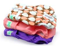 Cos2be Female Dogs Diapers Washable Reusable Wraps for from Small to Middle Dog 3 Packs